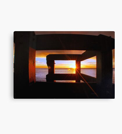 Last Light... Canvas Print