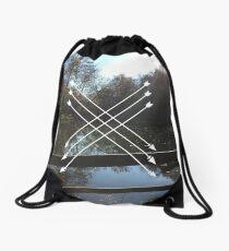 LAKES AND ARROWS Drawstring Bag
