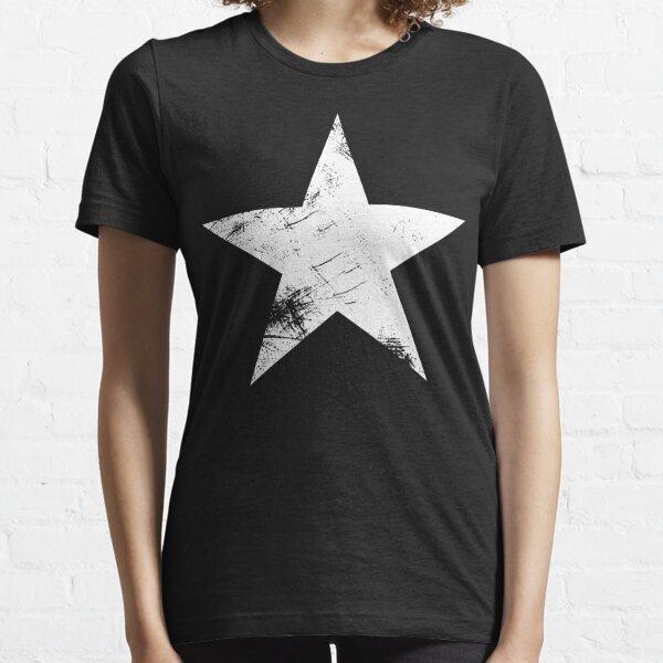 Stern weiss vintage Essential T-Shirt