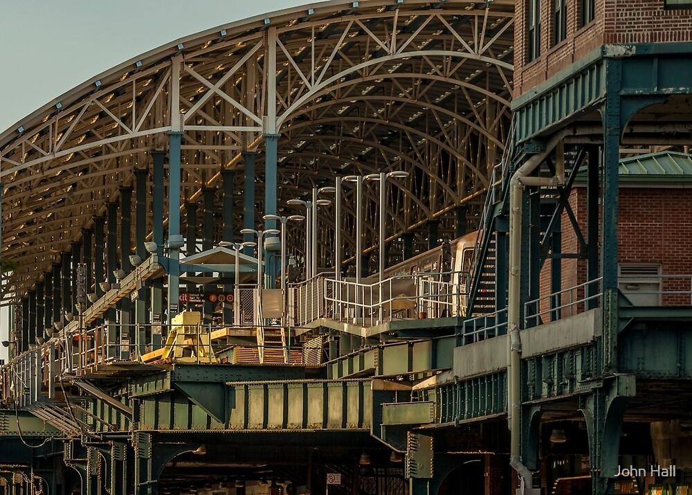 Coney Island Station by John Hall