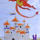 Dragon by NomadicGoddess