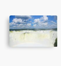 Devils Throat - Iguazu Falls Metal Print