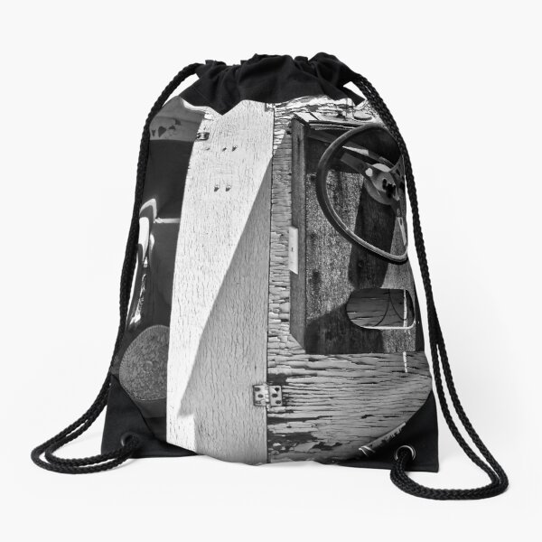 A Little Work and We'll be Cruising Drawstring Bag