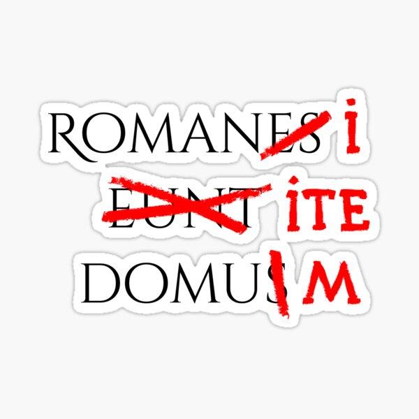 Romans go home Sticker