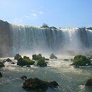 Wall of Water - Landscape, Iguazu Falls by David McGilchrist