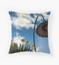 Spring time in Seattle Throw Pillow