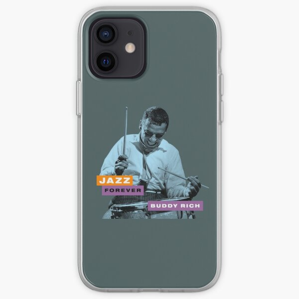 Jazz Forever - Buddy Rich iPhone Soft Case