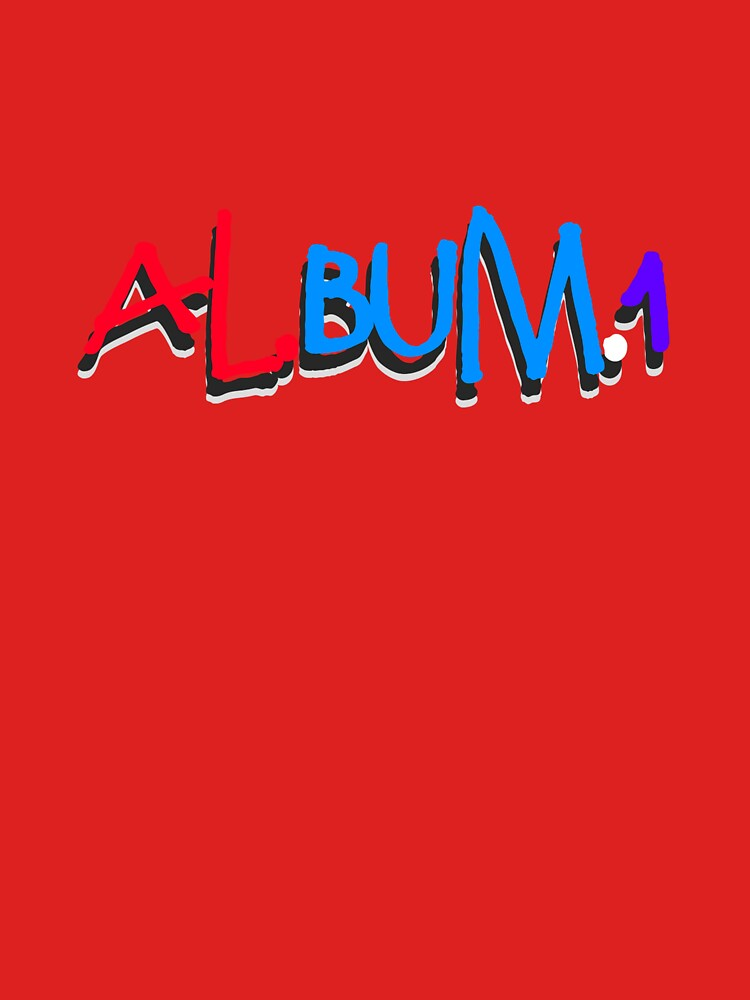 Al.BUM.1 Graphic (Shirts & Hoodies) by kaderr-music