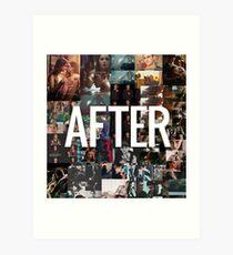 AFTER MOVIE - ANNA TODD - HESSA Art Print