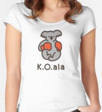 K.O.ala Fitted Scoop T-Shirt