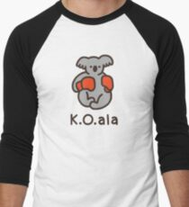 K.O.ala Baseball ¾ Sleeve T-Shirt