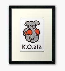 K.O.ala Framed Print