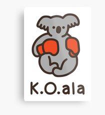 K.O.ala Metal Print