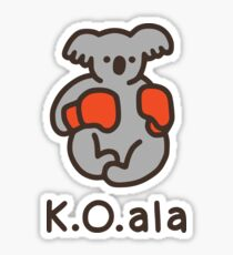 K.O.ala Sticker