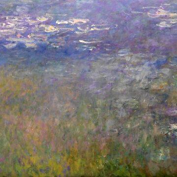 Water Lilies, Claude Monet by fourretout