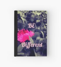 Cuaderno de tapa dura Be Different/Stand Out