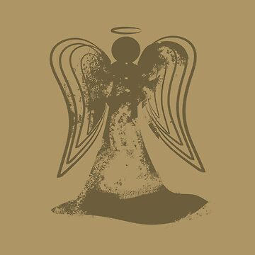 abstract angel by kimtangdesign