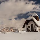 Little chapel on the top of the mountain by zakaz86