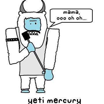 yeti mercurio de paintbydumbers