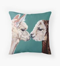 Alpacas! Throw Pillow