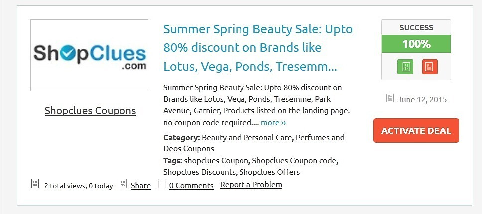 Shopclues Coupons by couponszila