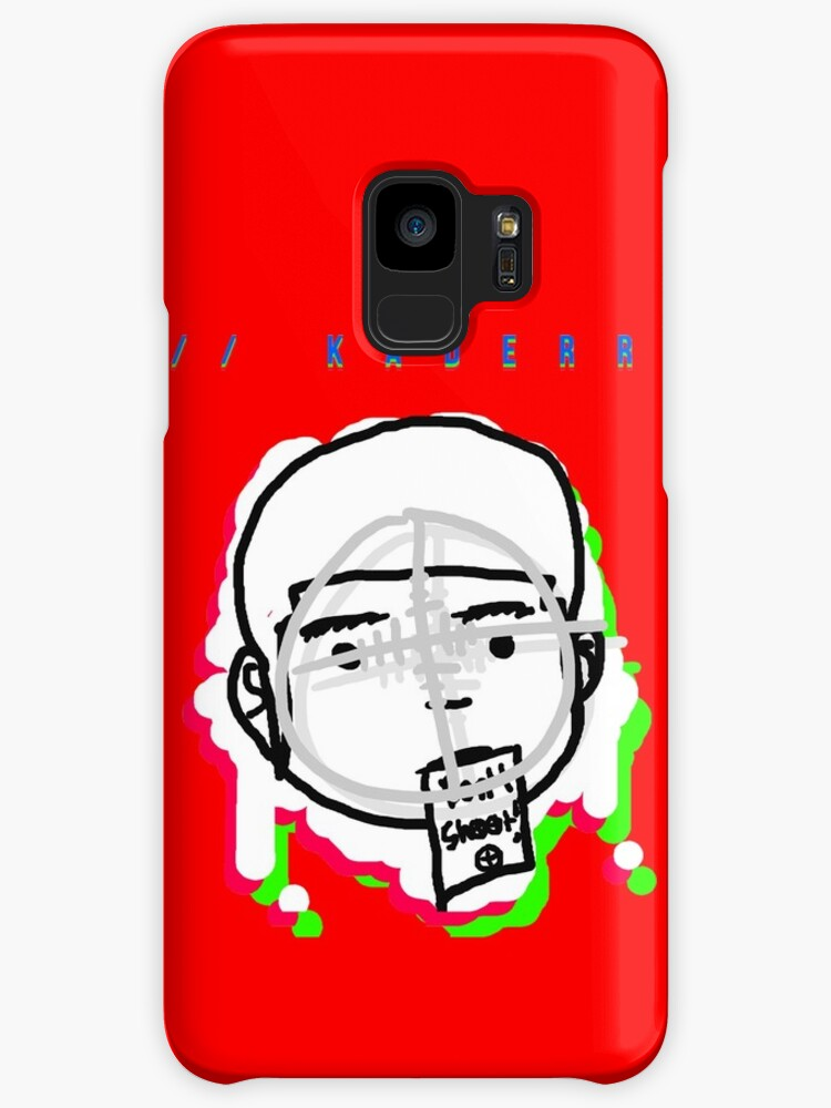 Kaderr Head Print (RED) (Phones & Tablets) by kaderr-music