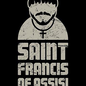 St Francis / Catholic Saint Francis of Assisi by EMDdesign
