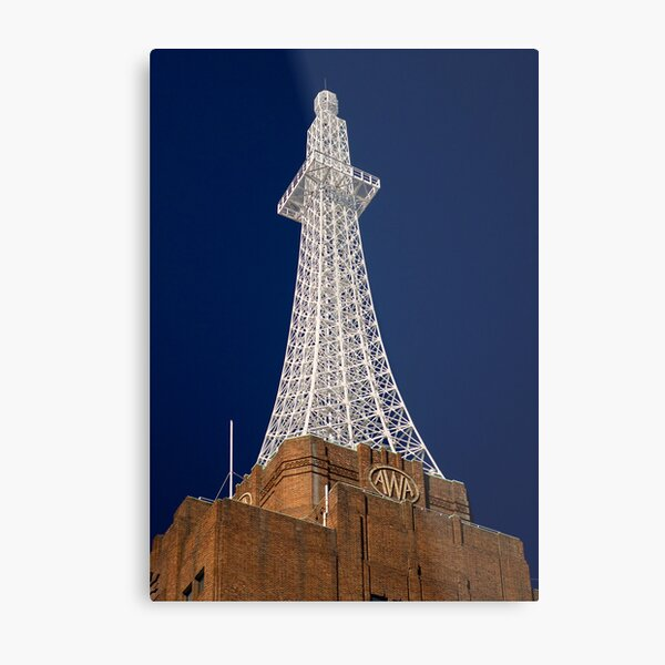 AWA Tower Metal Print