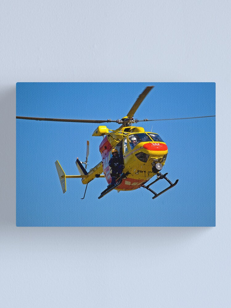 Alternate view of The Chopper Canvas Print