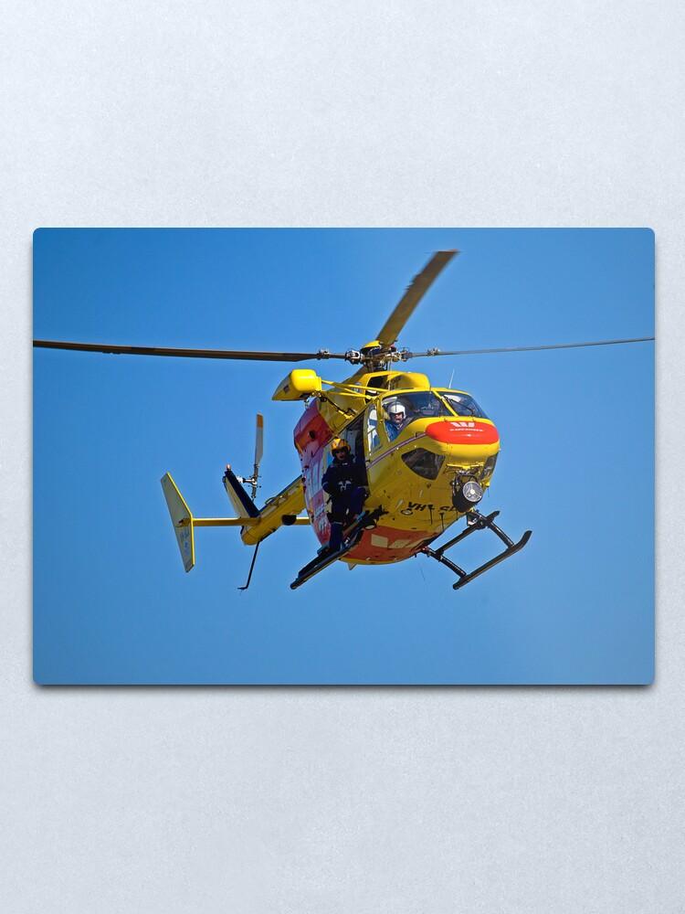 Alternate view of The Chopper Metal Print