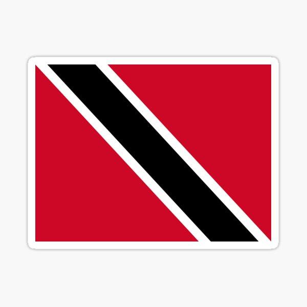 free Sticker Digni/® Trinidad and Tobago Flag