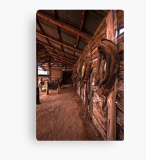 Heritage Stable Canvas Print
