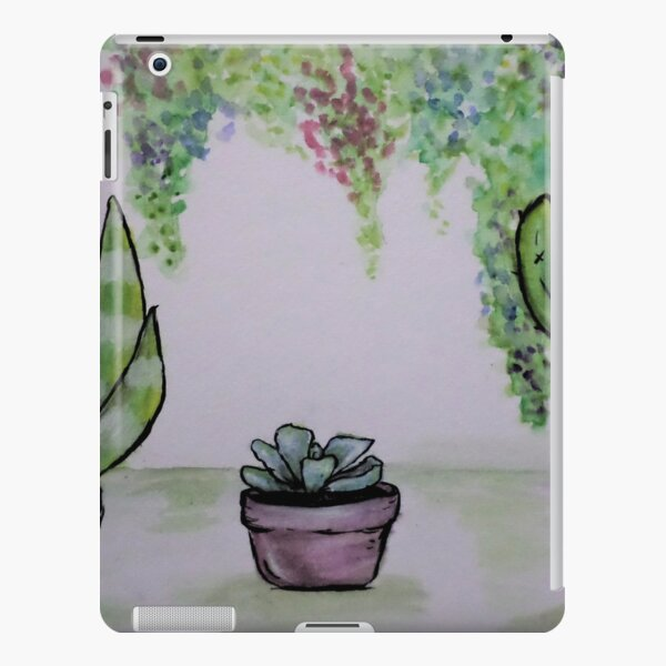 Succulents in Pots with Draping Plants iPad Snap Case