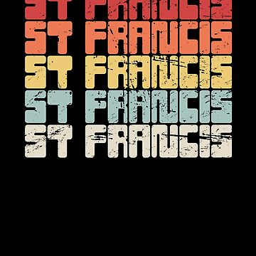 Catholic St Francis / Saint Francis Assisi by EMDdesign