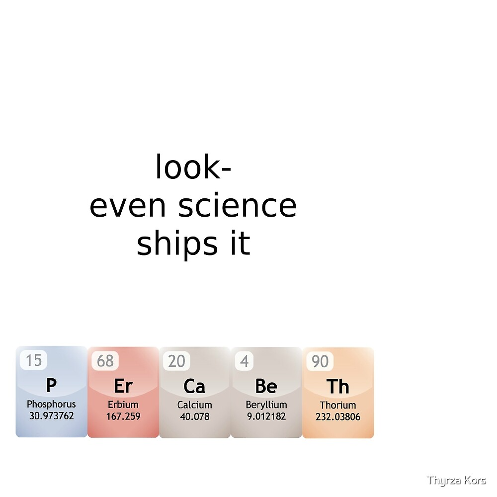 percabeth- even science ships it! by Thyrza Kors
