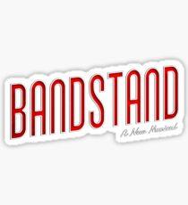 Bandstand - A New American Musical Logo Sticker