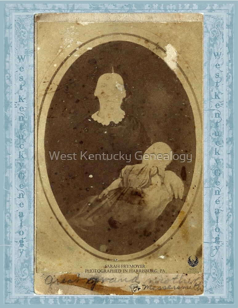SARAH FRYMOYER (GREAT GRANDMOTHER MESSERSMITH) by Don A. Howell