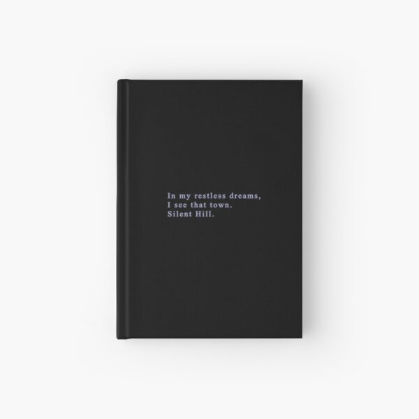 Silent Hill 2 - In my restless dreams Hardcover Journal