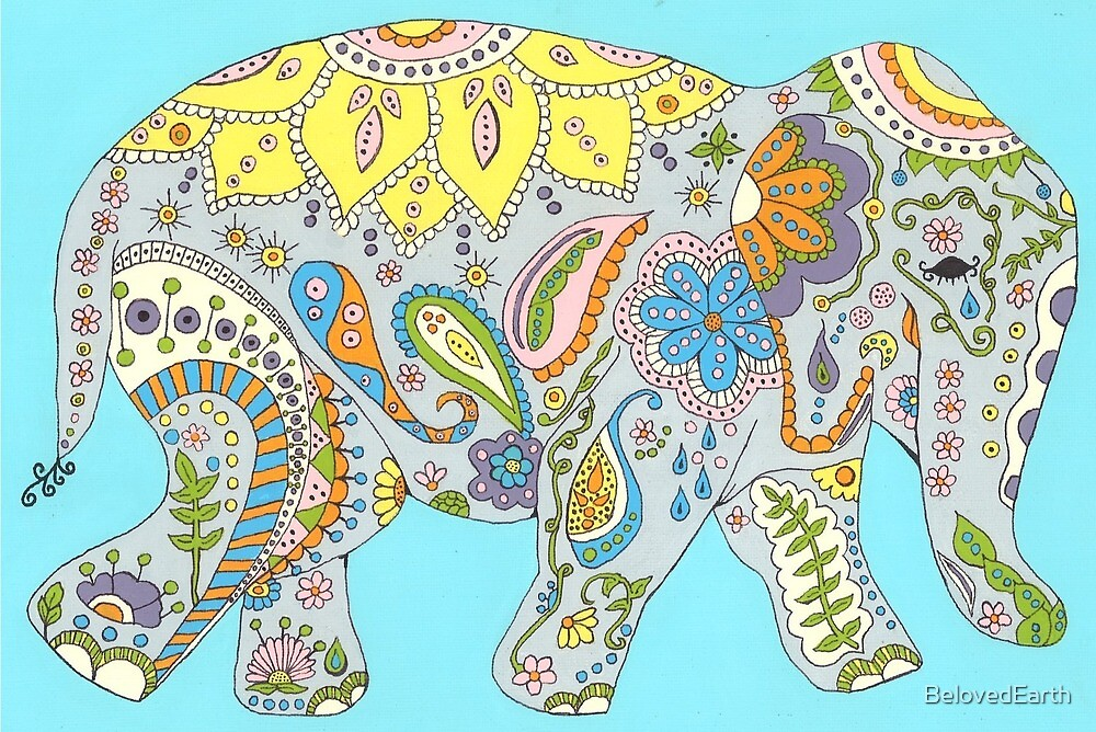 Elephant Mother by BelovedEarth