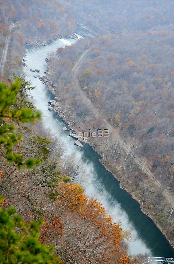 New River Gorge West Virginia by Jeanie93