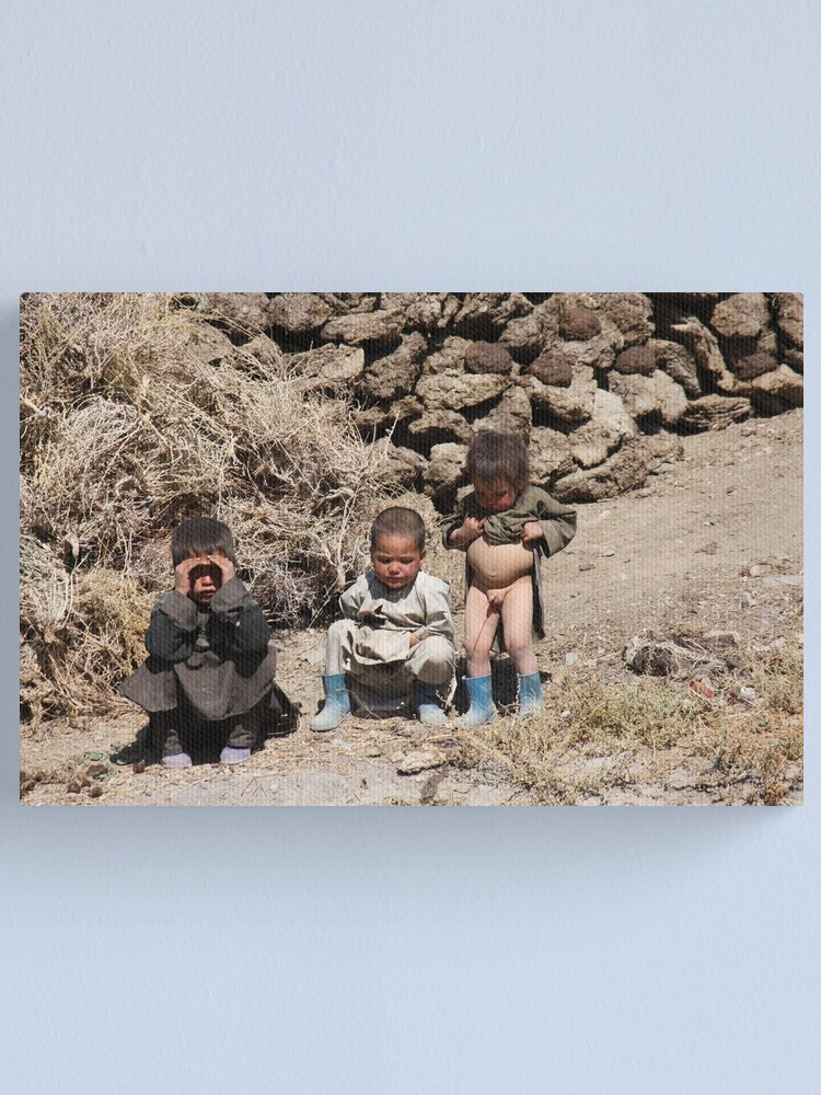 Alternate view of Three Brothers  (Afghanistan) Canvas Print
