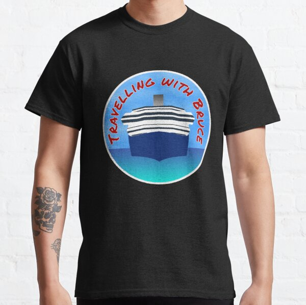 Travelling with Bruce Logo Classic T-Shirt
