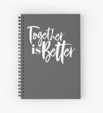 Cuaderno de espiral Juntos es mejor