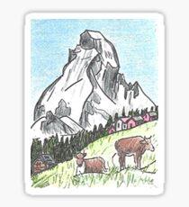 Matterhorn Zermatt, Switzerland Sticker