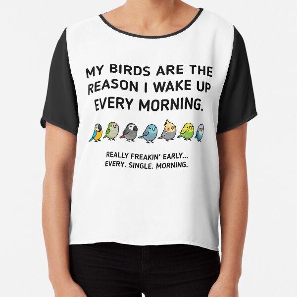 Early Birds Chiffon Top