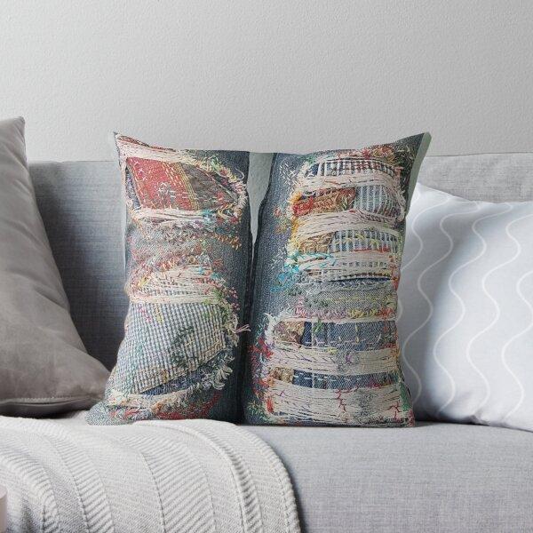 Double Stitch Throw Pillow