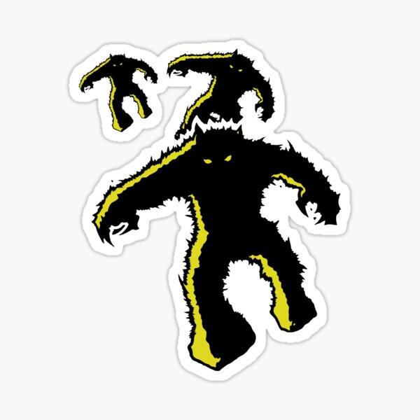 Space Invaders Alien Monster Stickers Sticker