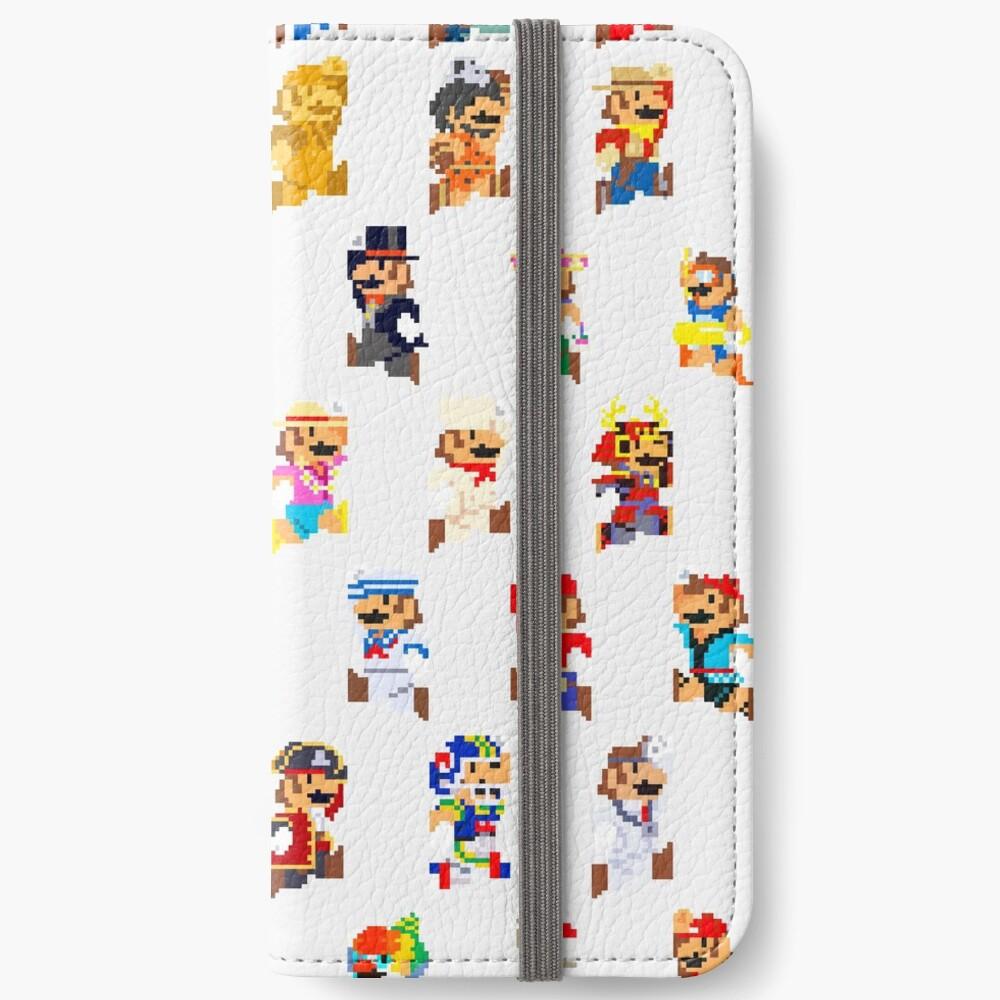 Mario Pixel Sprite Costumes Super Mario Odyssey Pixel Art Iphone Wallet