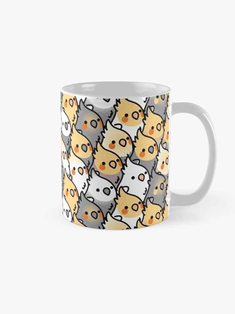 Alternate view of Chubby Cockatiel Party Mug
