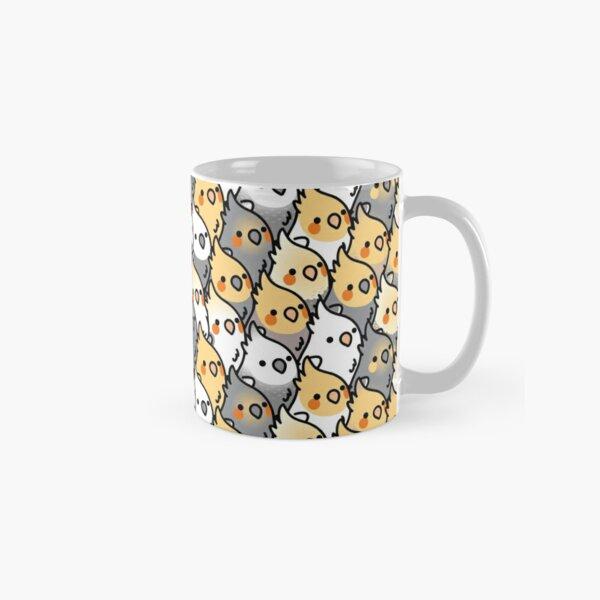 Chubby Cockatiel Party Classic Mug